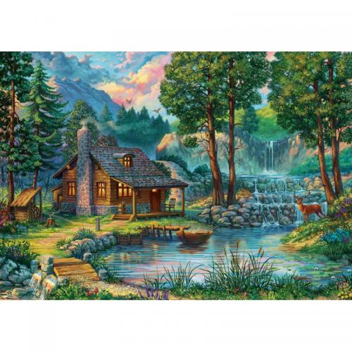 Puzzle 1000 piese - Fairytale House-Artworld - Jocuri pentru copii - Jocuri cu puzzle