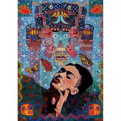 Puzzle 1000 piese - Frida-Alfredo Arreguin - Jocuri pentru copii - Jocuri cu puzzle