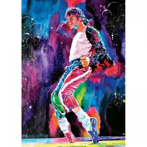 Puzzle 1000 piese - Michael Jackson Moonwalk-David Lloyd Glover - Jocuri pentru copii - Jocuri cu puzzle