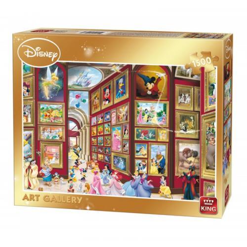 Puzzle 1500 piese Gallery - Jocuri pentru copii - Jocuri cu puzzle