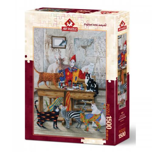 Puzzle 1500 piese - MY COLORFUL WORLD - Jocuri pentru copii - Jocuri cu puzzle