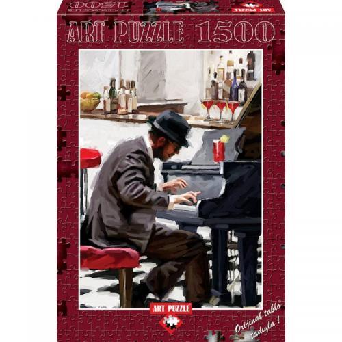 Puzzle 1500 piese - Piano Player - THE MACNEIL STUDIO - Jocuri pentru copii - Jocuri cu puzzle