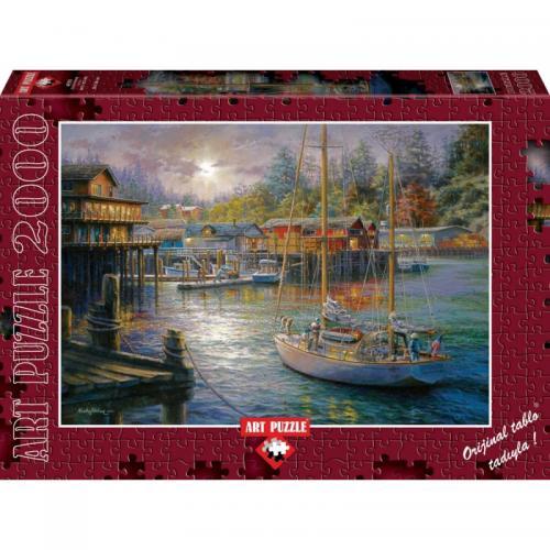 Puzzle 2000 piese - HARBOR - Jocuri pentru copii - Jocuri cu puzzle