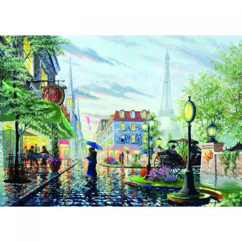 Puzzle 2000 piese - Summer Rain - Paris - Jocuri pentru copii - Jocuri cu puzzle