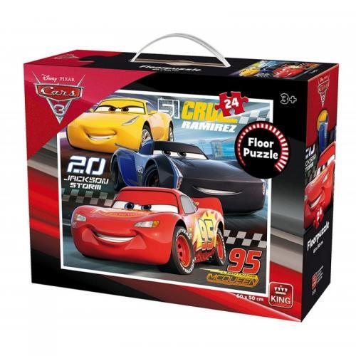 Puzzle 24 piese de podea Cars3 - Jocuri pentru copii - Jocuri cu puzzle