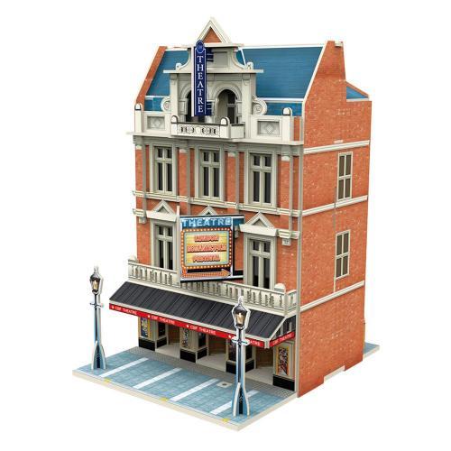 Puzzle 3D - Colectia Jigscape - Teatrul West End - Jocuri pentru copii - Jocuri cu puzzle