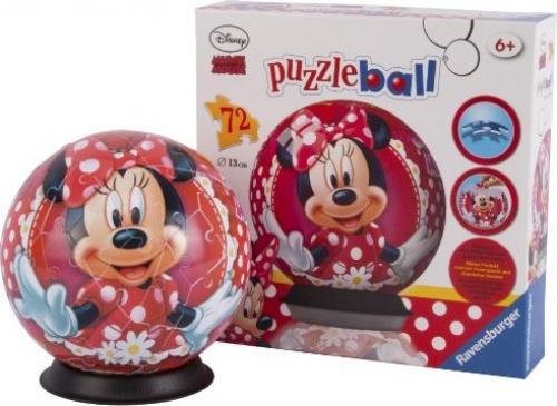 Puzzle 3D Minnie Mouse 72 piese - Jocuri pentru copii - Jocuri cu puzzle