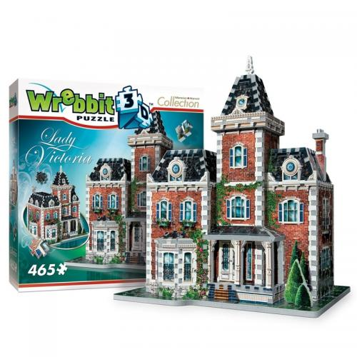 Puzzle 3D Vila Victoriana - Jocuri pentru copii - Jocuri cu puzzle