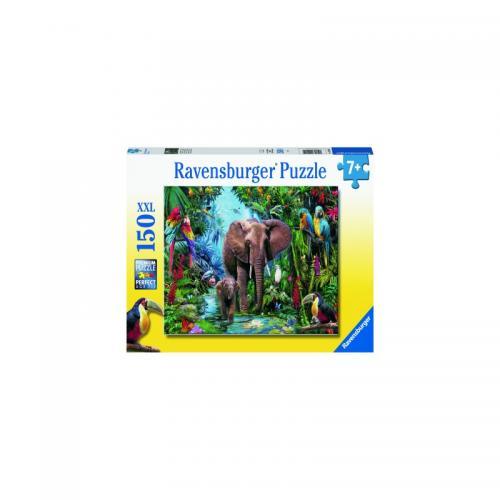 Puzzle Animale Din Safari - 150 Piese - Jocuri pentru copii - Jocuri cu puzzle