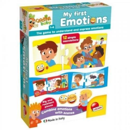 Puzzle bebelusi - primele emotii - Jocuri pentru copii - Jocuri cu puzzle