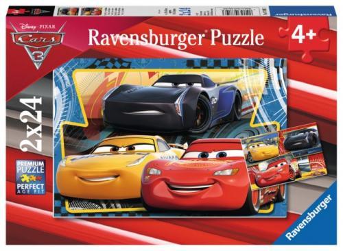 PUZZLE CARS - 2x24 PIESE - Jocuri pentru copii - Jocuri cu puzzle