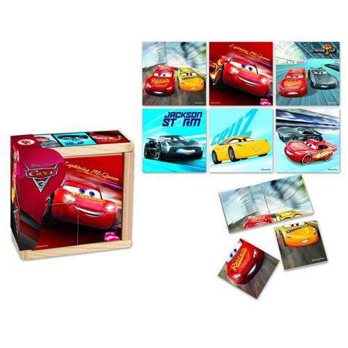 Puzzle Cars 3 - 6 poze - Jocuri pentru copii - Jocuri cu puzzle