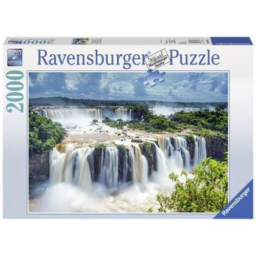 Puzzle Cascada - 2000 piese - Jocuri pentru copii - Jocuri cu puzzle