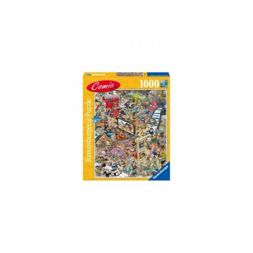 Puzzle Comic Hollywood - 1000 Piese - Jocuri pentru copii - Jocuri cu puzzle