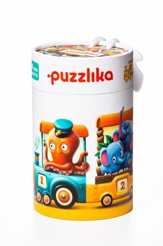 Puzzle - Cubika - Trenuletul Vesel - Jocuri pentru copii - Jocuri cu puzzle