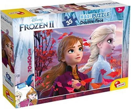 Puzzle de colorat - Frozen II (35 piese) - Jocuri pentru copii - Jocuri cu puzzle