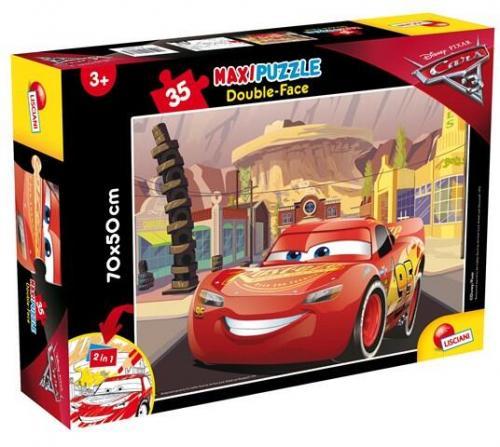 Puzzle de colorat maxi - Cars 3 (35 piese) - Jocuri pentru copii - Jocuri cu puzzle