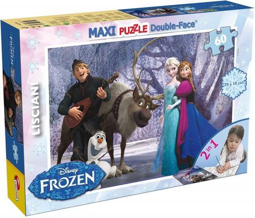 Puzzle de colorat maxi - Elsa si prietenii (60 piese) - Jocuri pentru copii - Jocuri cu puzzle