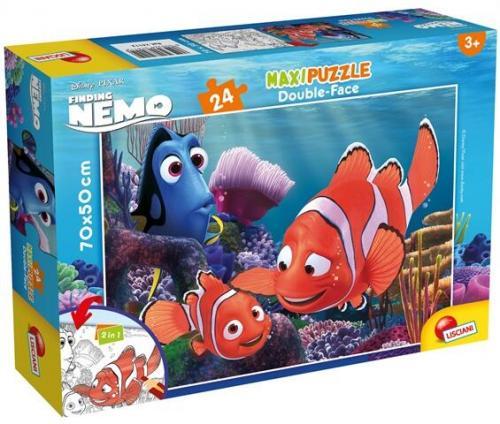 Puzzle de colorat maxi - Nemo (24 piese) - Jocuri pentru copii - Jocuri cu puzzle