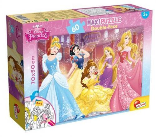 Puzzle de colorat maxi - Printese jucause (60 piese) - Jocuri pentru copii - Jocuri cu puzzle
