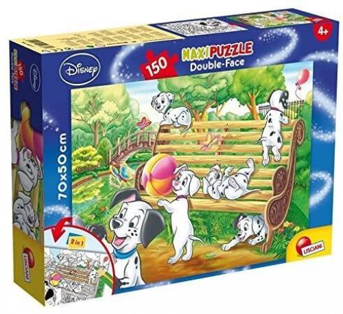 Puzzle de colorat supermaxi - 101 Dalmatieni (150 piese) - Jocuri pentru copii - Jocuri cu puzzle