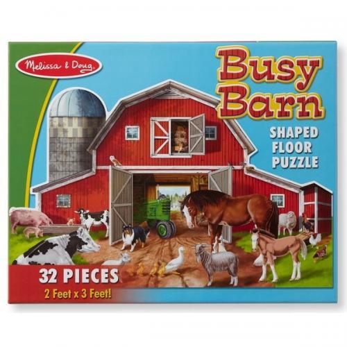 Puzzle de podea Ferma cu animale - Jucarii copilasi - Jucarii educative bebe