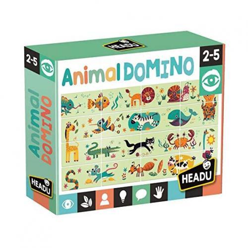 Puzzle Domino Animale - Jocuri pentru copii - Jocuri cu puzzle