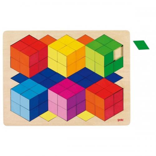 Puzzle Efecte 3D - Jocuri pentru copii - Jocuri cu puzzle