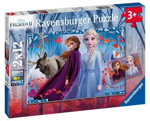 PUZZLE FROZEN II - 2x12 PIESE - Jocuri pentru copii - Jocuri cu puzzle