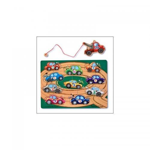 Puzzle lemn magnetic Remorcherul - Jocuri pentru copii - Jocuri cu puzzle