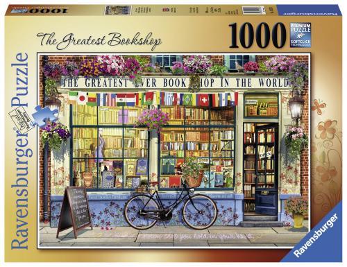 Puzzle Librarie Grozava - 1000 Piese - Jocuri pentru copii - Jocuri cu puzzle