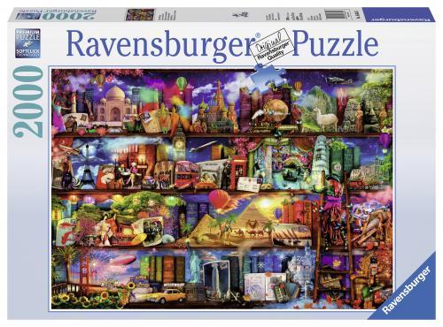 Puzzle Lumea Cartilor - 2000 Piese - Jocuri pentru copii - Jocuri cu puzzle