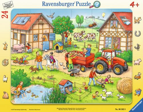 Puzzle mica mea ferma - 24 piese - Jocuri pentru copii - Jocuri cu puzzle
