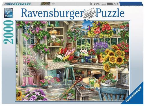 Puzzle Paradis Gradinar - 2000 Piese - Jocuri pentru copii - Jocuri cu puzzle