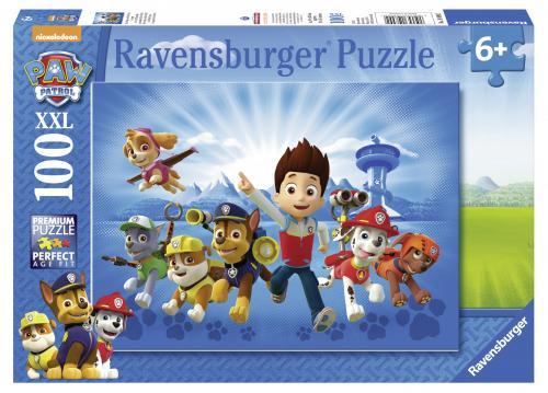 Puzzle Patrula Catelusilor - 100 Piese - Jocuri pentru copii - Jocuri cu puzzle