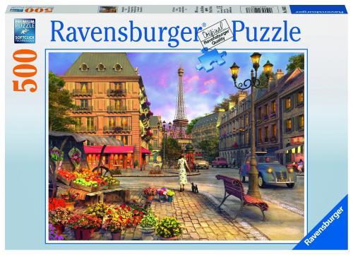 Puzzle Plimbare De Seara - 500 Piese - Jocuri pentru copii - Jocuri cu puzzle