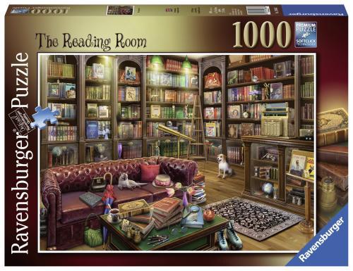 Puzzle Sala De Lectura - 1000 Piese - Jocuri pentru copii - Jocuri cu puzzle