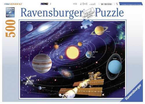 Puzzle Sistemul Solar - 500 Piese - Jocuri pentru copii - Jocuri cu puzzle
