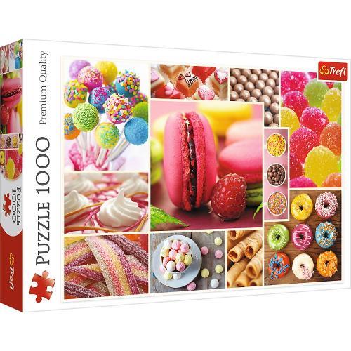 Puzzle trefl 1000 candyland - Jocuri pentru copii - Jocuri cu puzzle