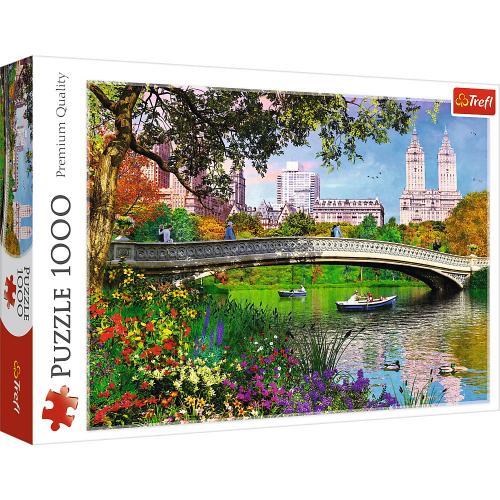 Puzzle trefl 1000 central park new york - Jocuri pentru copii - Jocuri cu puzzle