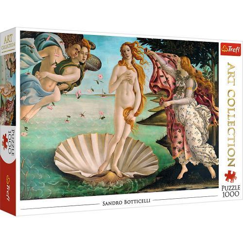 Puzzle trefl 1000 nasterea lui venus botticelli - Jocuri pentru copii - Jocuri cu puzzle