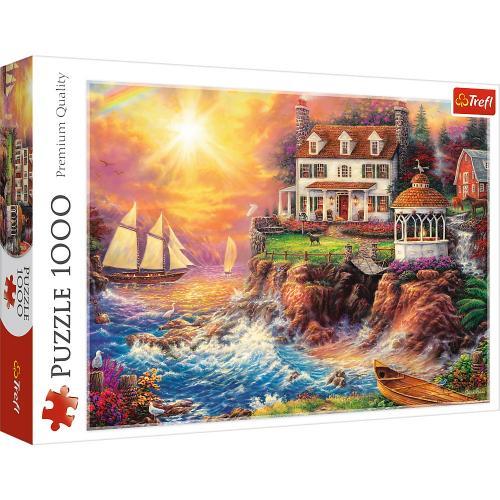Puzzle trefl 1000 o priveliste spectaculoasa - Jocuri pentru copii - Jocuri cu puzzle