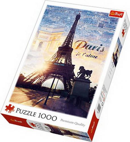 Puzzle trefl 1000 paris in zori - Jocuri pentru copii - Jocuri cu puzzle