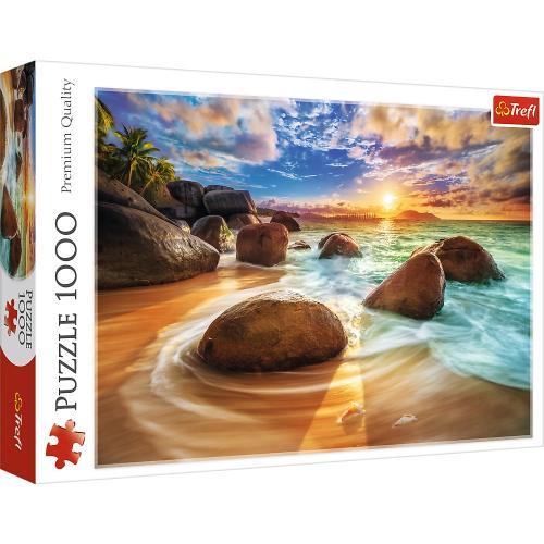 Puzzle trefl 1000 plaja samudra india - Jocuri pentru copii - Jocuri cu puzzle