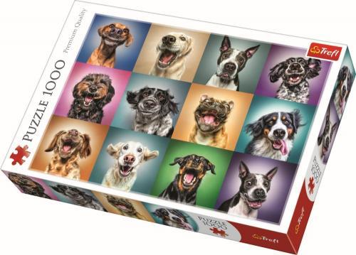 Puzzle trefl 1000 portret catelusi simpatici - Jocuri pentru copii - Jocuri cu puzzle