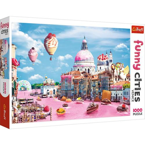 Puzzle trefl 1000 prajiturele la venetia - Jocuri pentru copii - Jocuri cu puzzle