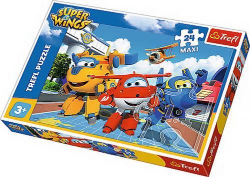 Puzzle trefl 24 maxi avioane fericite - Jocuri pentru copii - Jocuri cu puzzle
