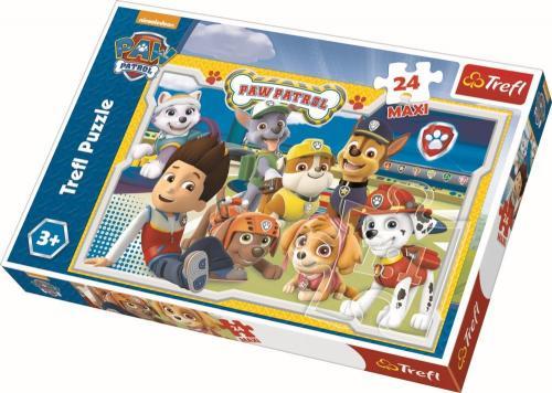 Puzzle trefl 24 maxi patrula catelusilor - Jocuri pentru copii - Jocuri cu puzzle