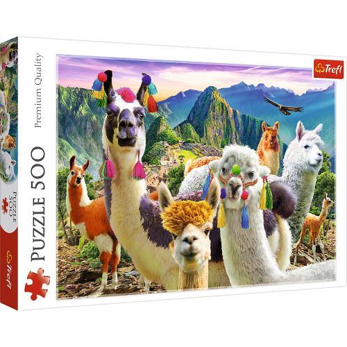 Puzzle trefl 500 lame in munti - Jocuri pentru copii - Jocuri cu puzzle