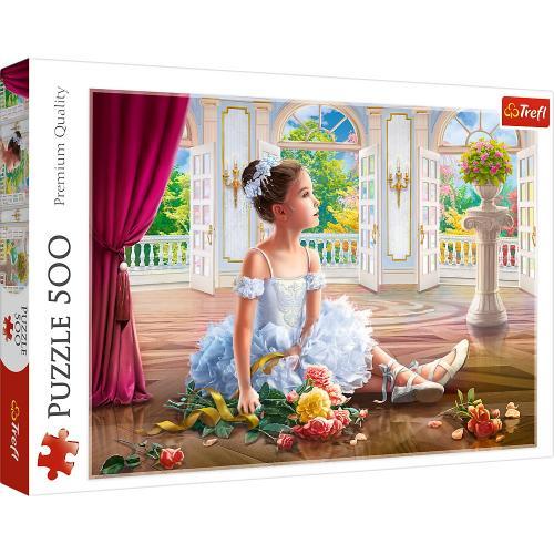 Puzzle trefl 500 micuta balerina - Jocuri pentru copii - Jocuri cu puzzle